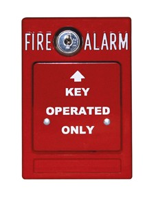Key-Operated Fire Alarm Station