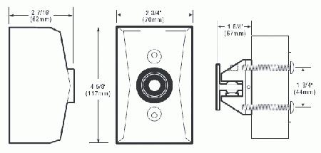 Edwards signaling 1508 series electromagnetic door for 1508 aqn5 door holder