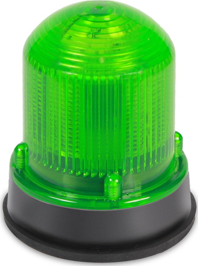 125  LED, Steady Green, 24VDC